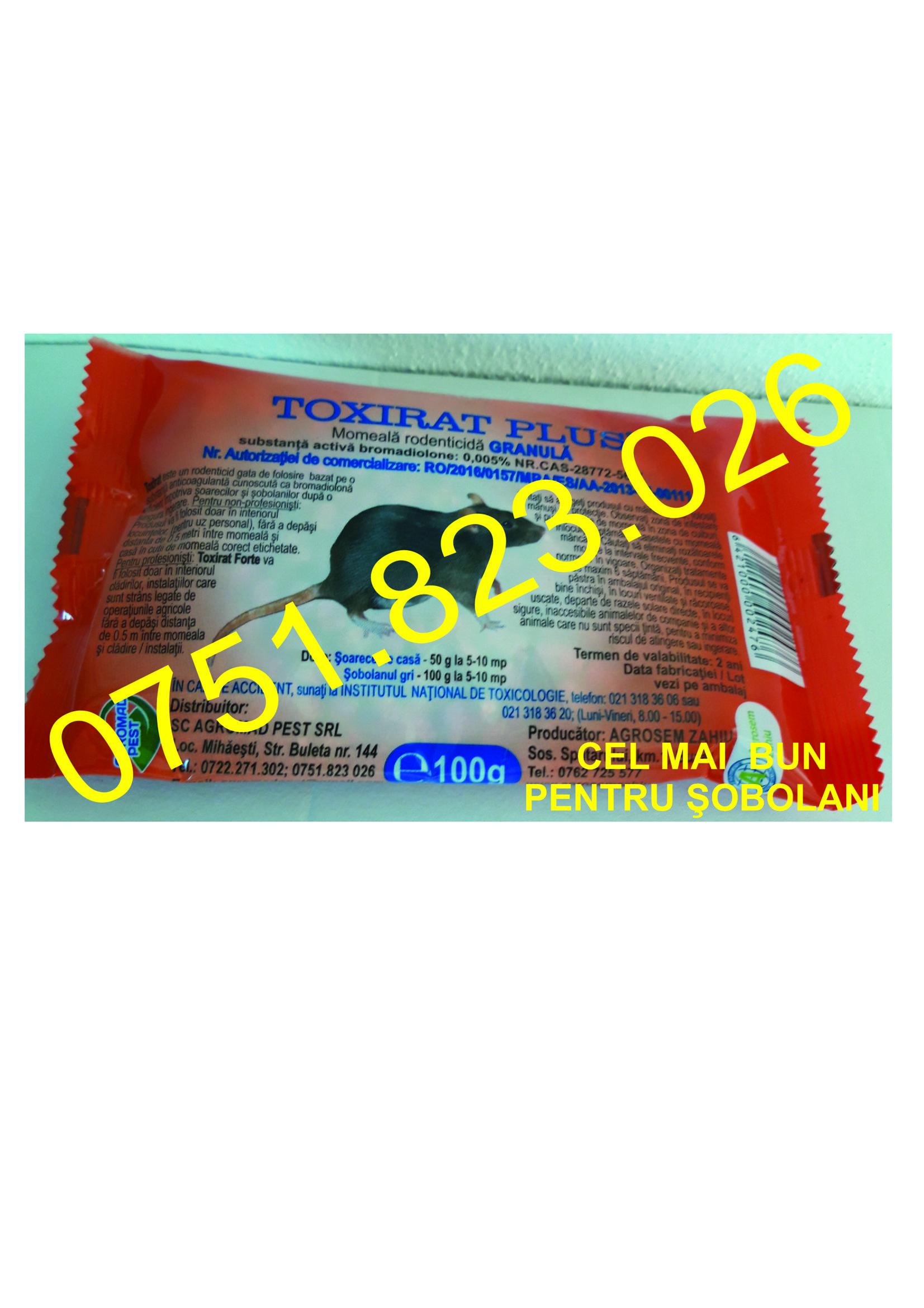 Poza Agromad Toxirat Plus 100 g